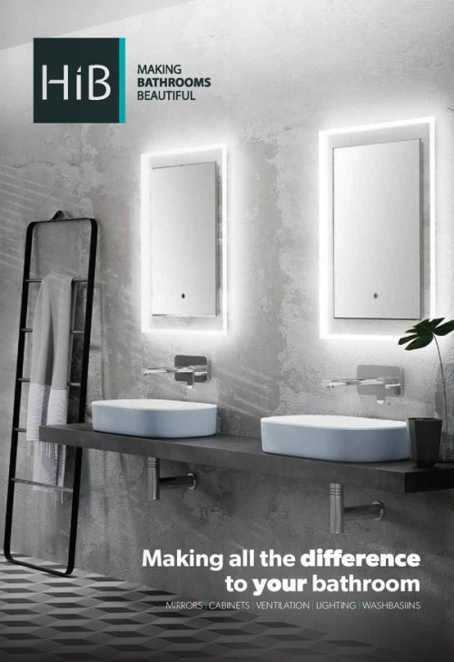 HiB Mirror, Cabinets, Washbasins, Furniture, Lighting, Ventilation